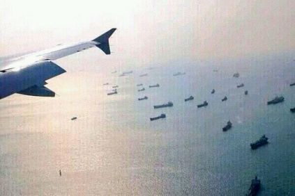 Malaysia-Airline-crash-ships from different countries searching for debris of flight MH370