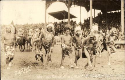 Indian War Dance at the Pendleton Roundup, OR