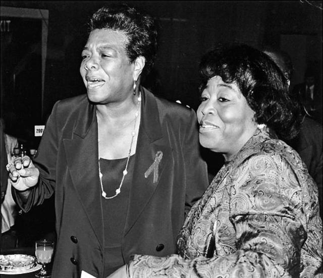 angelou and betty shabazz