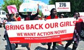 Bring Back Our Girls Protest At Nigerian Embassy In Washington, D.C.