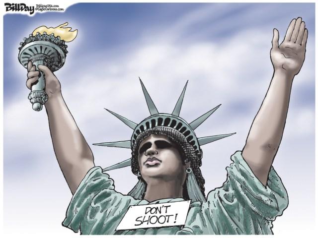 ferguson statue of liberty
