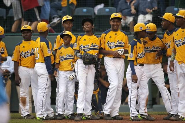 LLWS Las Vegas Chicago Baseball