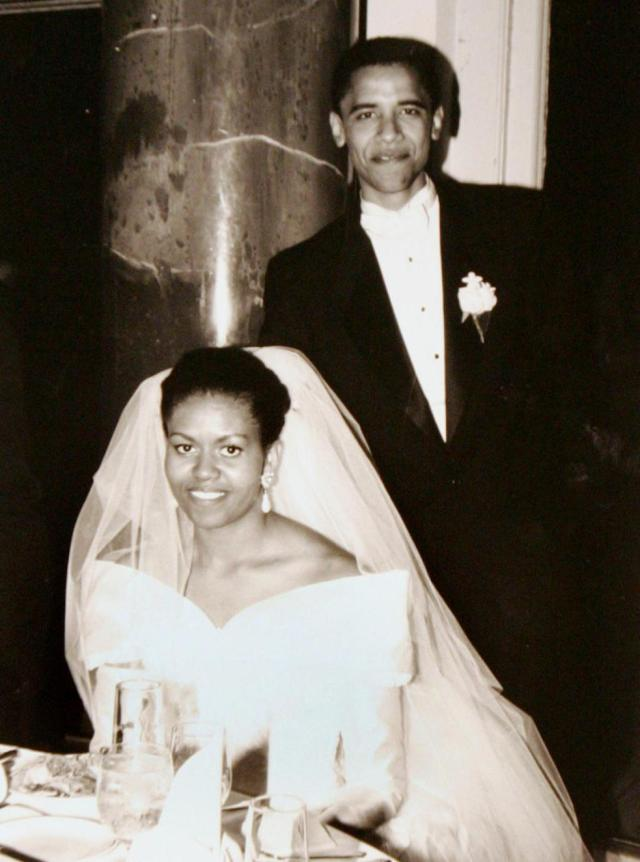 first couple wedding picture