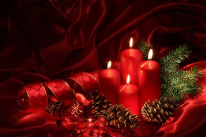 Holiday candles  32