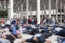 UTSA students protest Eric Garner, Ferguson deaths with 'die-in'2