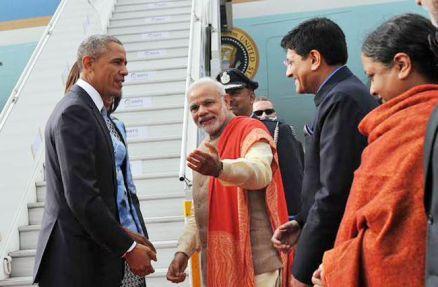 PM narendramodi greets Potus26