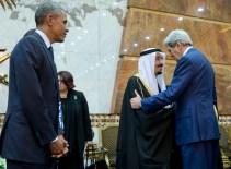 Barack Obama, Salman bin Abdul Aziz, John Kerry