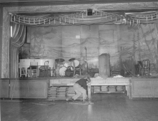 The Audubon Ballroom. The Audubon Ballroom in upper Harlem in New York City, after it was roped off by police following the assassination of Malcolm X. Credit: Al Burleigh / AP