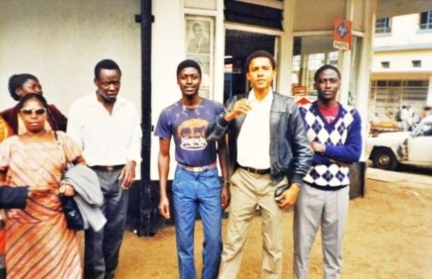 Barack visiting family in Kenya6