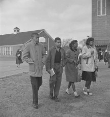 Edward Jordan, James Turner, LaVera Forbes and Claudia Wellington - Norview Jr. High School