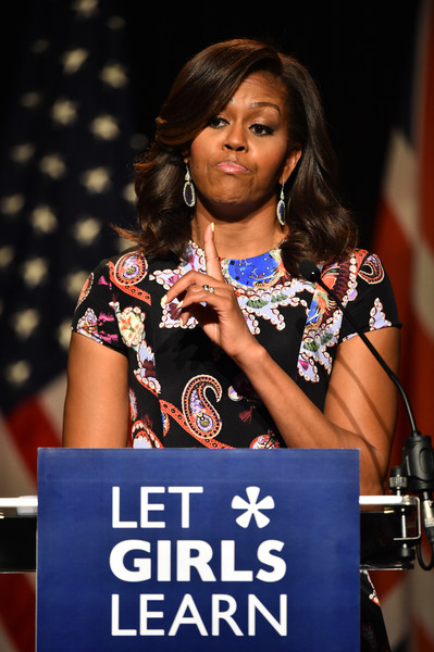 Michelle+Obama+First+Lady+Visits+London+Part+oFdM0QhPtb3l