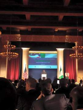 Buhari dinner hosted by the US CCCCA