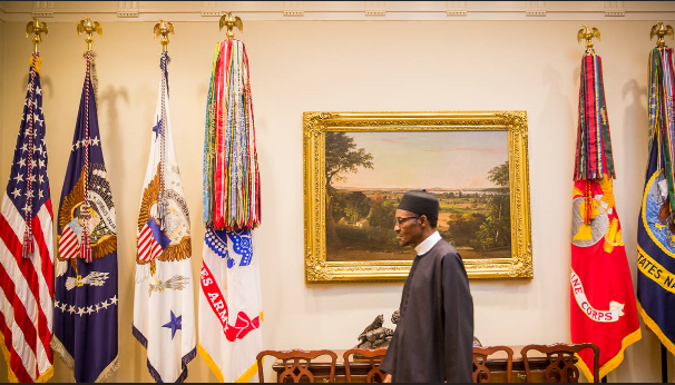 Buhari Meets Obama At The White House 13