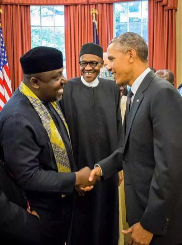 Buhari Meets Obama At The White House 17