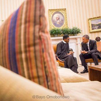 Buhari Meets Obama At The White House 5