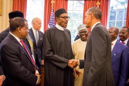 Buhari Meets Obama At The White House 7