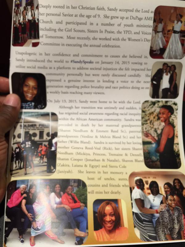 Sandra Bland Funeral 2