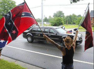 Tennessee bigots greet Potus