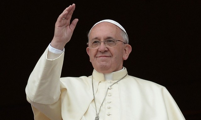 Pope Francis at St Peter's
