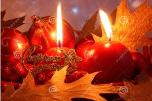 Christmas candles 81