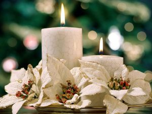 Christmas candles 80
