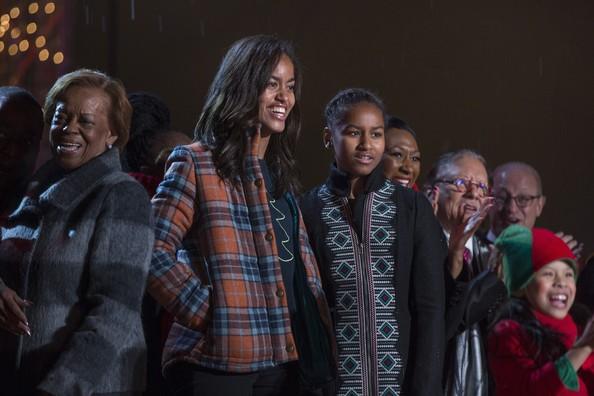 Malia+Obama+First+Family+Attend+National+Christmas+oOCKkBu8BpJl
