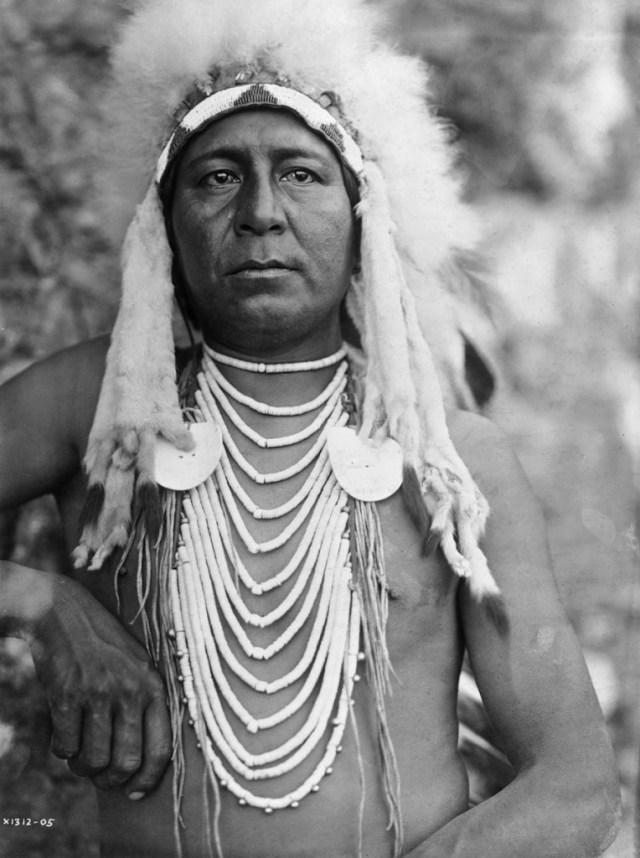 Native American Upshaw-an-Apsaroke-man-in-full-headdress_-764x1024