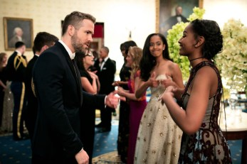 Malia and Sasha at Canadian State Dinner 2016-8