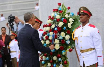 Cuba wreath laying ceremony 20