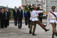 Cuba wreath laying ceremony 5