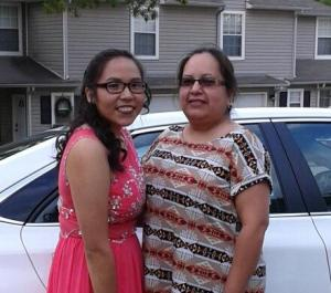 Liseanne Yazzie and her mother Michelle Bear Robe are relieved that Sapulpa High will now allow traditional moccasins.