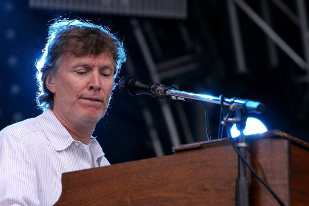 SAN FRANCISCO - AUGUST 23: Steve Winwood performs during day two of the Outside Lands festival on August 23, 2008 at Golden Gate Park in San Francisco, California. (Photo by Karl Walter/Getty Images)