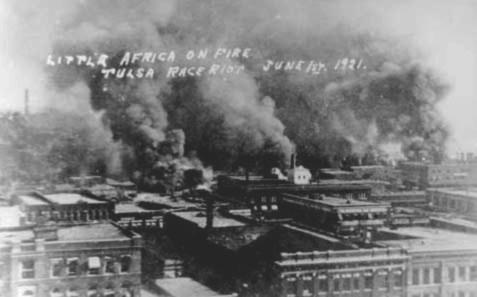 Burning of black wall street 6