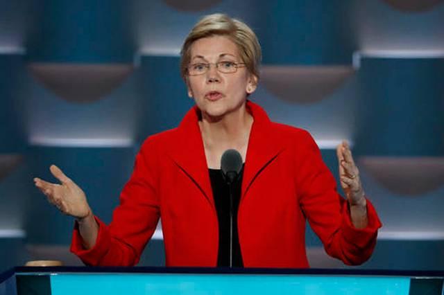 Elizabeth Warren -DEM 2016 Convention