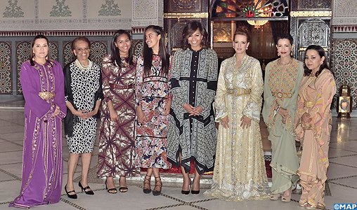 FLOTUS and daughters in Morocco-32