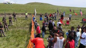 Protests at Standing Rock.