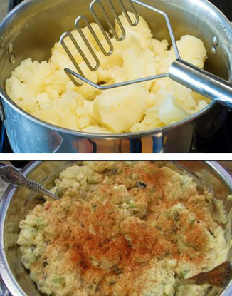 White people like mashed potatoes while black people love potato salad! (Don't forget the Paprika)