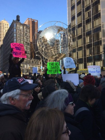 NYC ACA rally