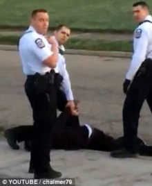 Officer Zachary Rosen aware assault being filmed