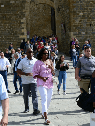 Michelle Exploring Italy 29