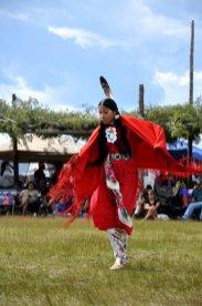 Native American Fancy Shawl Dancer