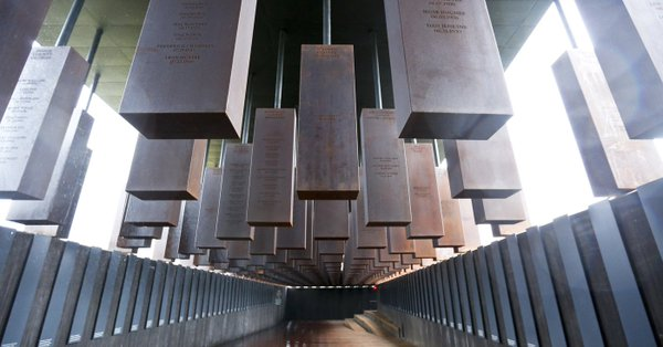 America's first memorial to its 4,400 lynching victims