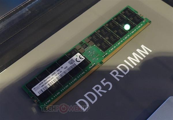 SK海力士展示單條64GB DDR5記憶體,256GB - SK Hynix 正式發佈全球第一條 DDR5 記憶體 - XFastest Hong Kong