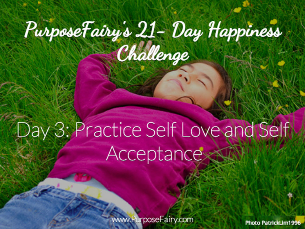 21 Day Happiness Challenge Day 3