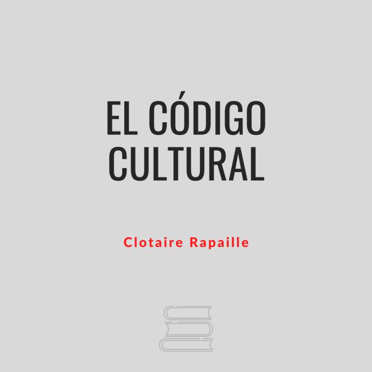 El código cultural