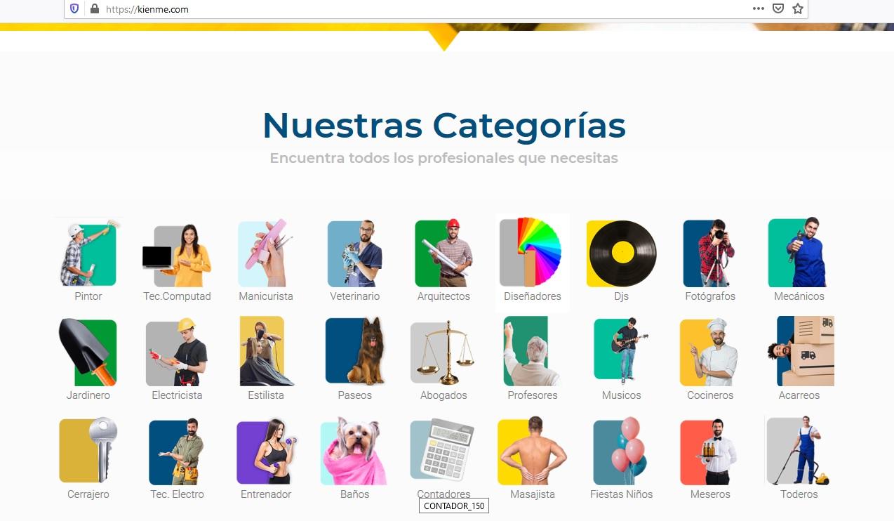 kienme aplicación empleo en colombia