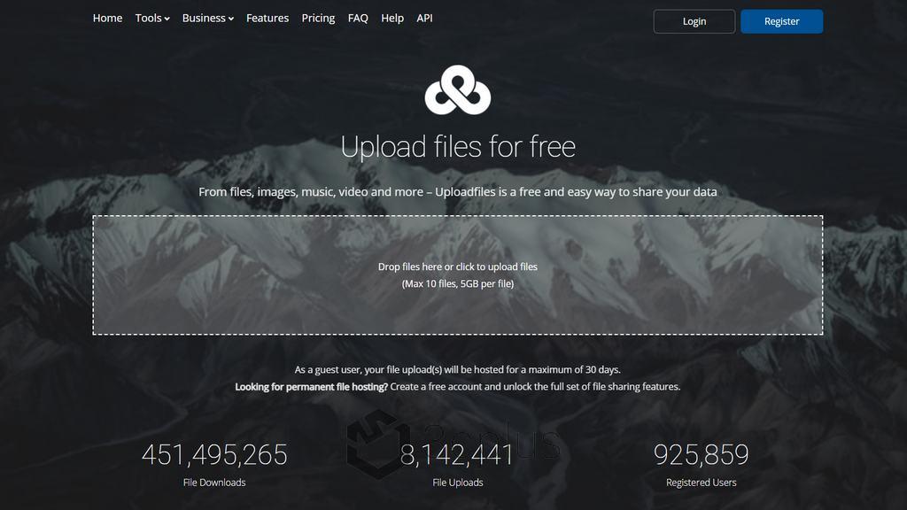 Ufile | 免註冊也有免費 5GB 傳輸空間