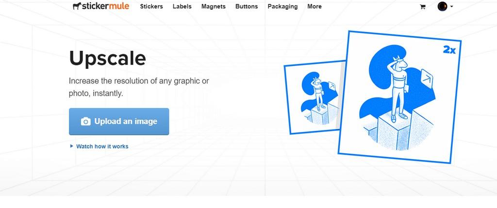 Upscale-By-Sticker-Mule 有效放大低解析圖片不失真