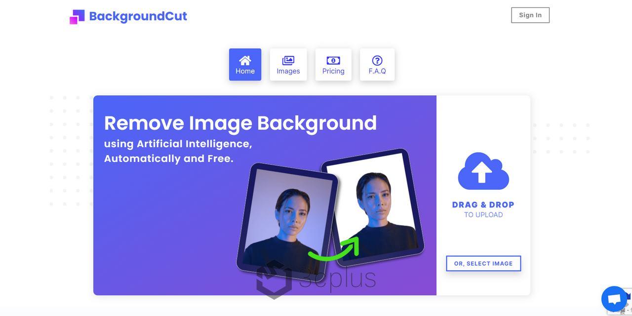 BackgroundCut | 高畫質 AI 人工智慧線上去背工具