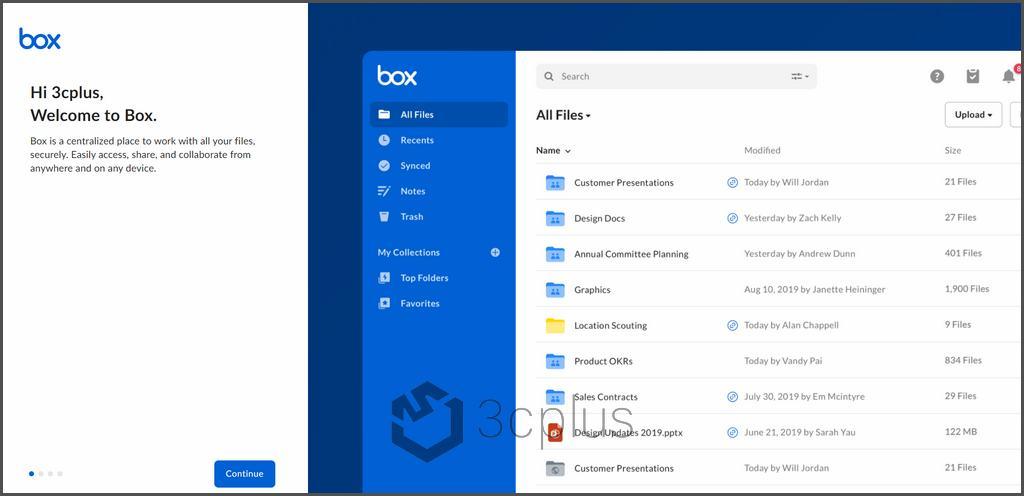 BOX | 老牌穩定的雲端空間,註冊就能獲得免費的 10GB 雲端空間